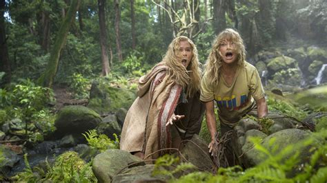 Review Of La Times Step Away From The It Bag Maam by Schumer And Goldie Hawn Get Lost In The Jungle With