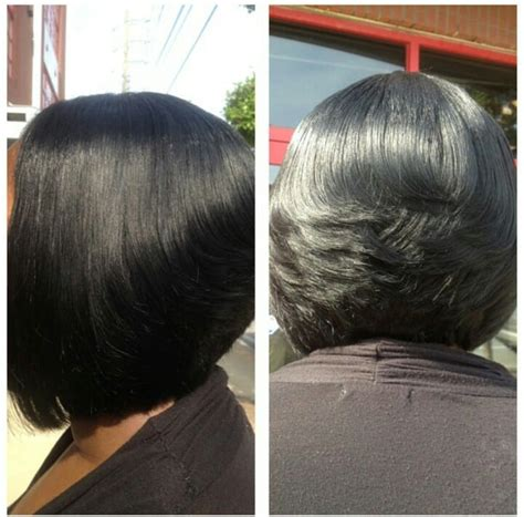 quick weaves in dallas tx quick weave stylist atl quickweave feathered bob side and