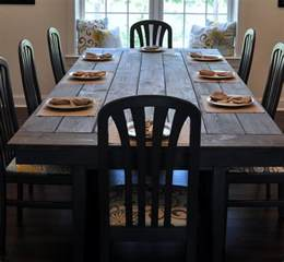 Making Dining Room Table Farmhouse Table Remix How To Build A Farmhouse Table