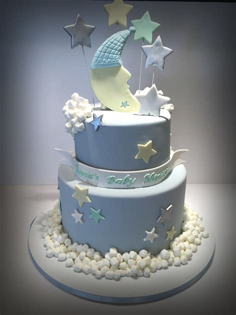 Moon And Baby Shower and moon baby shower cake cakecentral