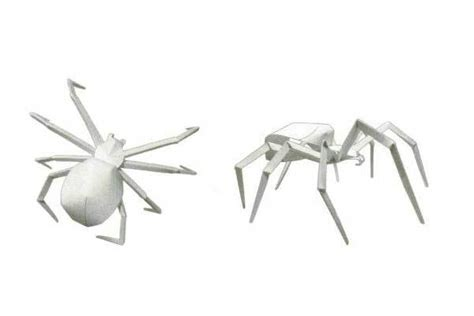 Spider Papercraft - new paper craft simple wasp spider papercraft free