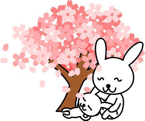 clipart new year rabbit free vector graphic rabbits bunnies animal free