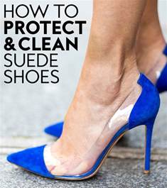 how to protect and clean your suede shoes instyle