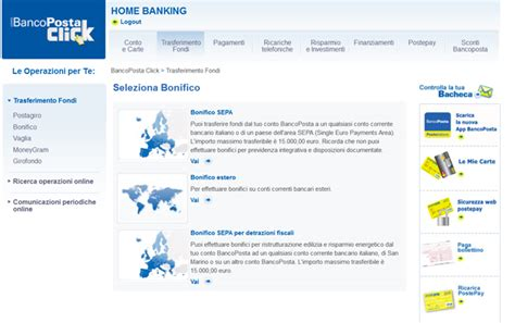 conto banco poste click bancoposta click vantaggi e ultimi aggiornamenti