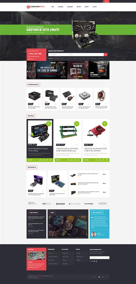 buzz themes computer store ves computer store responsive magento theme by venustheme
