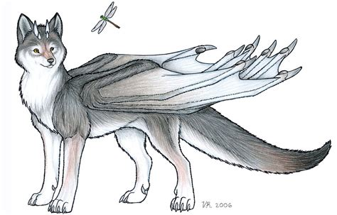 wolf dragon by veroramos on deviantart