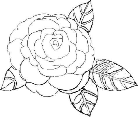 imagenes para pintar lindas dibujos de rosas
