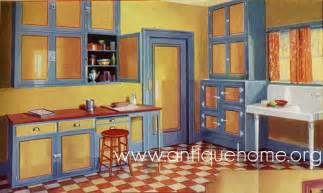 1930s kitchen design 1930 kitchen 1930s kitchen design yellow blue see t flickr