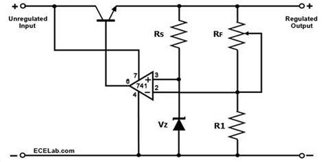 zener diode negative voltage regulator op voltage follower regulator xlgps