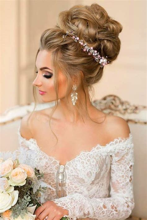 Hairstyles For Wedding Of The by Best Wedding Hair Bun Fade Haircut