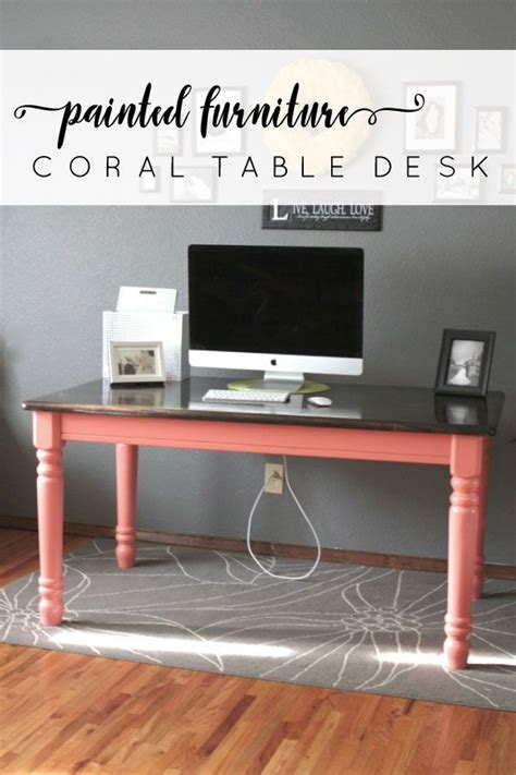 Turn Dining Room Table Into Desk 25 Best Ideas About Table Desk On Diy Desk