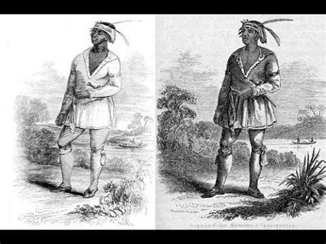 the seminole indians of florida genealogy trails happy black history john horse and the black seminoles youtube