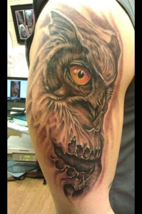 tattoo owl on arm owl arm tattoo tattoos pinterest