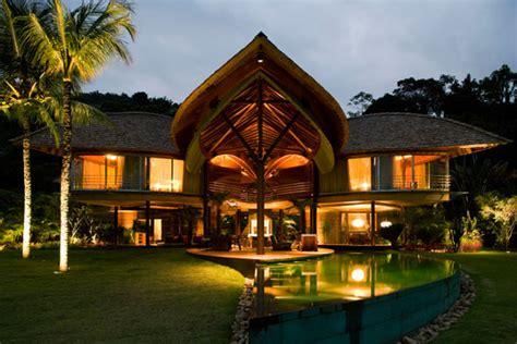 brazilian homes the breezy beautiful brazilian leaf house inhabitat