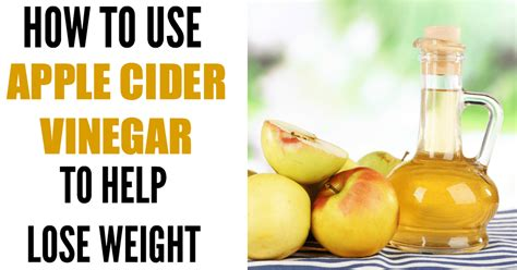 How Do I Use Apple Cider Vinegar To Detox by How To Use Apple Cider Vinegar For Weight Loss The