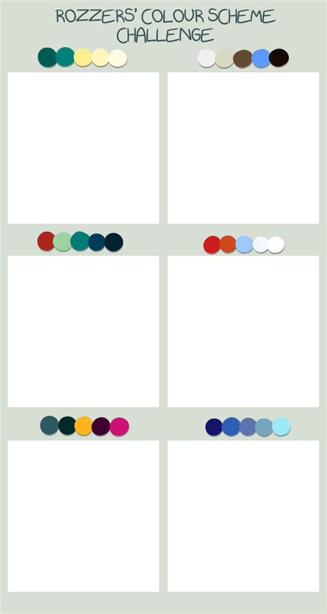 draw scheme colour scheme challenge by skraww on deviantart