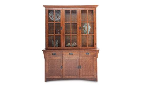 mission style china cabinet mission oak buffet china cabinet mission style