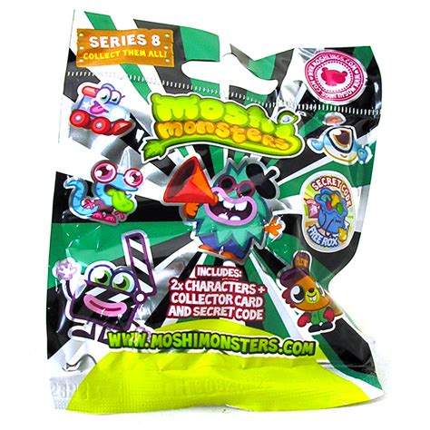 Moshi Monsters Blind Bags moshi monsters series 8 moshling figures in foiled sealed