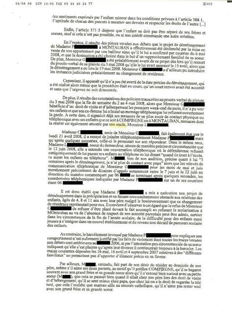 Demande De Garde Exclusive Lettre modele lettre licenciement garde partagee