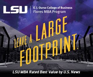 Lsu Vs Lsus Mba by Flores Mba Program