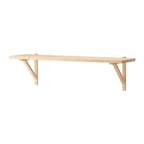 Ekby Shelf by Ekby J 196 Rpen Ekby Valter Wall Shelf Birch Veneer