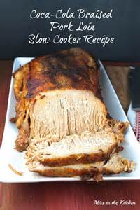 coca cola braised pork loin slow cooker recipe apple