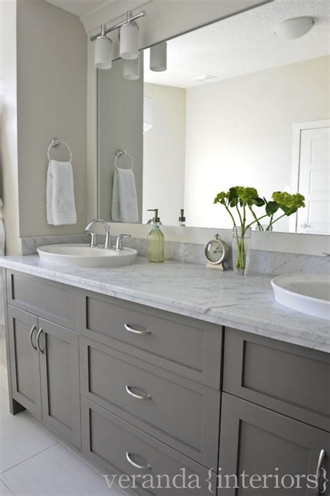 gray bathroom vanities contemporary bathroom veranda