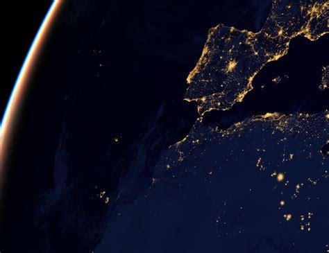 imagenes satelitales de la tierra de noche im 225 genes de la tierra de noche desde el espacio soy402 com