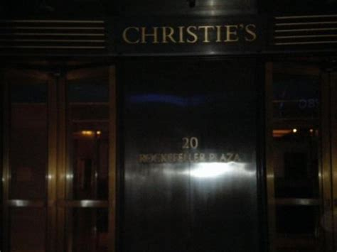 Christies Auction House by Christie S Auction House Picture Of Christie S New York