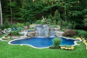 Backyard Landscaping With Pool Reubens Lawn Care Landscaping Around The Pool