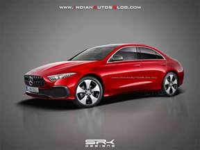 Mercedes A Class Sedan Mercedes A Class Sedan Rendered In Production Form