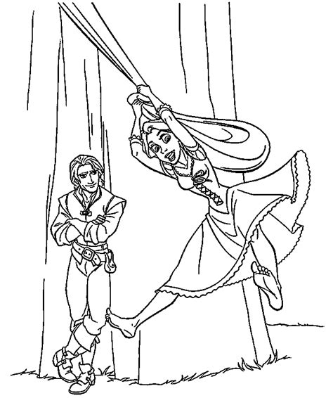 disney rapunzel coloring pages coloring home