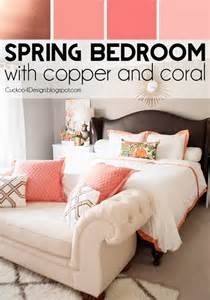 Shades Of Pink Paint For Bedroom Copper Coral And Blush Bedroom Update Cuckoo4design