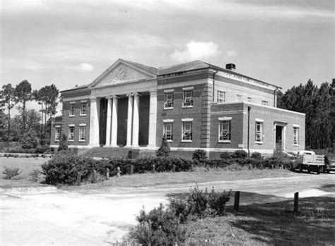 Baker County Florida Records Florida Memory Baker County Courthouse Macclenny Florida