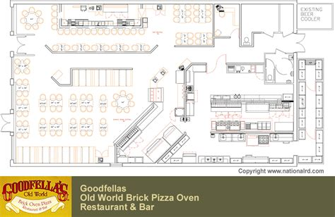 pizzeria floor plan pizza restaurant design layouts joy studio design