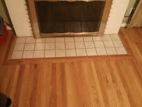 Hardwood Floor Trim Around Fireplace   Gallery of Wood and