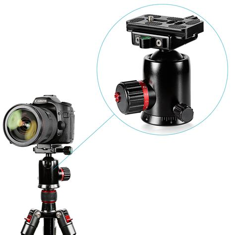 Panoramic Rotating Panning Base Mount For Dslr Csdsbk neewer 360 degree rotating panoramic with 1 4 quot release plate ebay