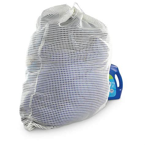 3 Pk Of Mil Spec Plus Jumbo Mesh Laundry Bags White Mesh Laundry