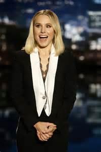 kristen bell kristen bell at jimmy kimmel live in hollywood 05 04 2017 hawtcelebs hawtcelebs