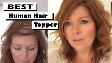 hair toppers for thinning hair women best human hair toppers hairpieces for fine thinning
