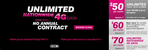 t mobile launches unlimited 4g data plan for prepaid