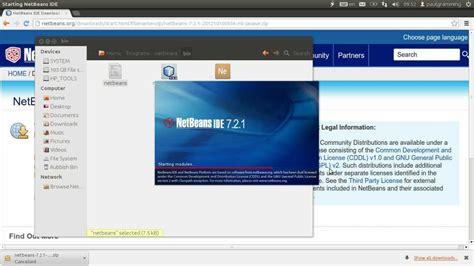 how to install netbeans in ubuntu how to install configure latest netbeans 7 2 1 on ubuntu