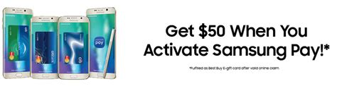 Activate Gift Cards Without Paying - free money with samsung pay activation more samsung offers doctor of credit