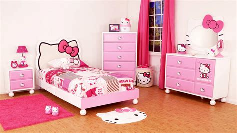 childrens bedroom decor hello kitty girls room designs