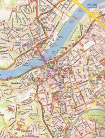 cities maps maps of linz detailed map of linz in maps of