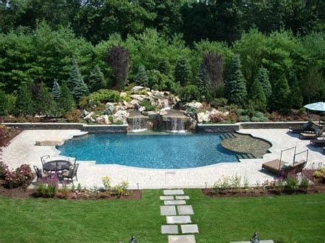 swimming pool landscape design inground pool landscaping ideas bistrodre porch and