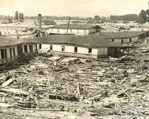 Portland Records Request Center 1948 Vanport Flood Aftermath Building Debris