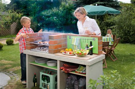giardino d inverno fai da te barbecue fai da te in muratura e portatile