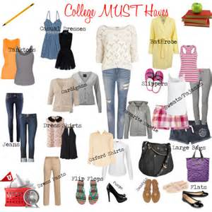 college living fashion must haves image consultant