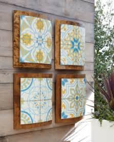 Patio Wall Decor by Paragon Decors World Tiles Wall Decor